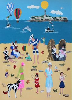 """Los ganadores del I Certamen Internacional de Arte Naif 2016 """"Ciudad de Santander"""" han sido : Premio del público pintor nacional - Xoni..."""