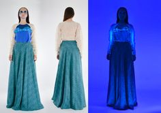 Behance, Formal Dresses, Gallery, Blue, Collection, Fashion, Dresses For Formal, Moda, Formal Gowns