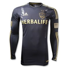 Los Angeles Galaxy 2012 Third Long Sleeve TechFit Soccer Jersey