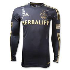 Los Angeles Galaxy 2012 Third Long Sleeve TechFit Soccer Jersey