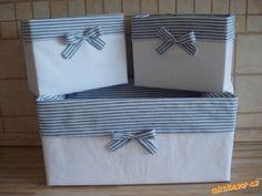 Košíčky z papírových krabic
