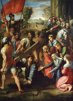 Christ Falling on the Way to Calvary, Raphael, περ. 1514-16
