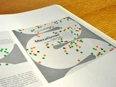 Swiss modern graphic design for the chemical industry