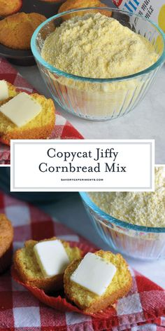 Copycat Jiffy Cornbread Mix Easy Homemade Cornbread - Copycat Jiffy Cornbread Muffin Mix is the perfect, sweet accompaniment to any meal. With just a few simple ingredients, you can make your very own mix. Jiffy Mix Recipes, Jiffy Cornbread Recipes, Homemade Cornbread, Sweet Cornbread, Cornbread Muffins, Homemade Muffin Mix, Homemade Dry Mixes, Cornmeal Recipes, Homemade Seasonings