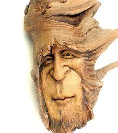 Nancy Tuttle original carving