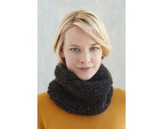 Garter Stitch Cowl Pattern (Knit)