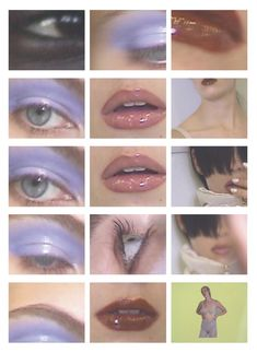 Aesthetic Makeup, Aesthetic Photo, Aesthetic Fashion, Makeup Inspo, Makeup Inspiration, Art Photography, Fashion Photography, Photography Editing, Psychedelic Art