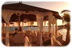 Beach Wedding Ideas On A Budget | Cyprus Wedding Reception, on the beach, in a marquee, hotel or taverna