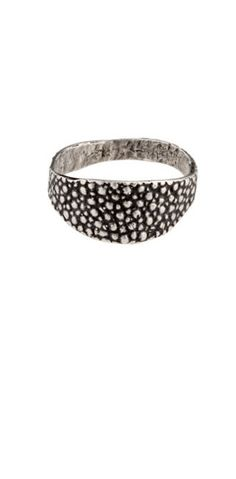 love funky silver rings!
