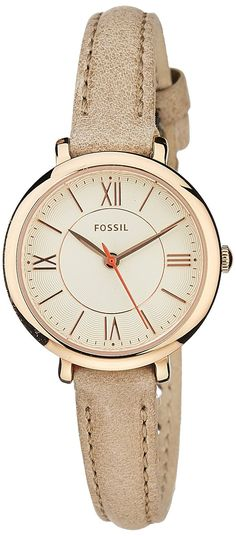Fossil Women's ES3802 Jacqueline Small Gold-Tone Stainless Steel Watch *** Read more reviews of the watch by visiting the link on the image.