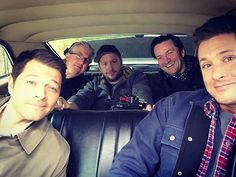 Pin for Later: Jensen Ackles's Best Pictures From the Supernatural Set