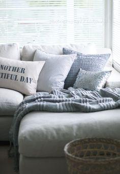 Maruska: i sofakroken...