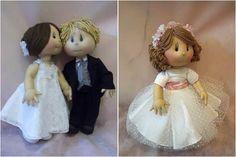 Casando 2013: Lembrancinhas - Damas de honra e Pajens