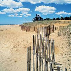 """East Hampton, New York. """"At the beach, life is different. Time doesn't move hour to hour but mood to moment. We live by the currents, plan by the tides and follow the sun."""" Coastalliving.com"""