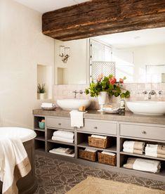 Desastres decorativos que hay que evitar al reformar el baño Ikea Bathroom, Bathroom Goals, Boho Bathroom, Bathroom Renos, Budget Bathroom, Modern Bathroom, Small Bathroom, Master Bathroom, Bathroom Ideas