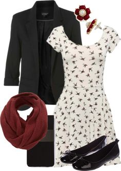 """""""Teacher Outfits on a Teacher's Budget"""" by allij28 on Polyvore << very cute"""