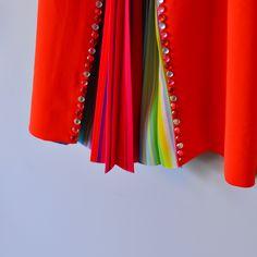 Mary Katrantzou Orange Cocktail Dress