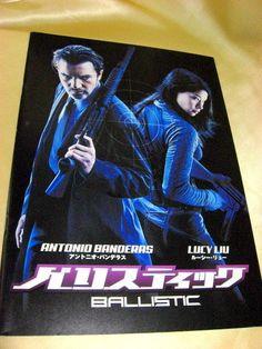 Movie Program Japan- BALLISTIC /2003/ ANTONIO BANDERAS, LUCY LIU, RAY PARK