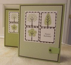 stamping sanity: Trendy Trees