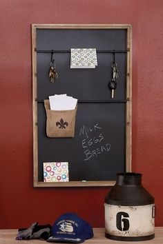 Brown Wood Message Board