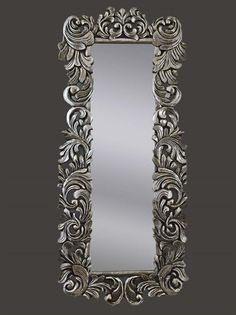 Splendido specchio argento 160x70 cm