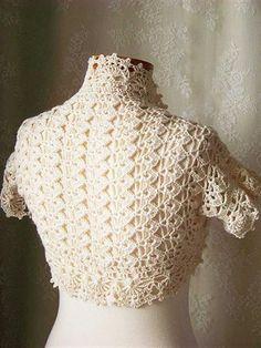 Sewing Daisies - still looking for that elusive creative gene. Crochet Cardigan, Crochet Shawl, Crochet Yarn, Crochet Hooks, Shrugs And Boleros, Pineapple Crochet, Lace Sweater, Love Crochet, Crochet Fashion