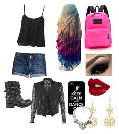"""Going to school"" by ggfashionlover ❤ liked on Polyvore"