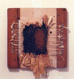 D-11.Oct.1987 paper weaving  mixed media  林孝彦 HAYASHI Takahiko 1987