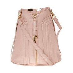 Blush zip front duffle bag - Shoulder Bags - Handbags & Purses - Accessories - Dorothy Perkins