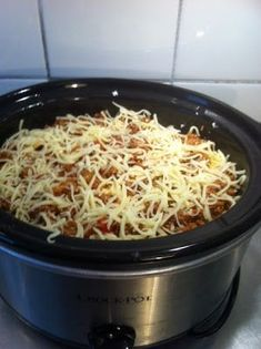 Linn idag: Lasagne i Crock Pot Lchf, Crock Pot, Macaroni And Cheese, Slow Cooker, Food And Drink, Ethnic Recipes, Lasagna, Crockpot, Mac And Cheese