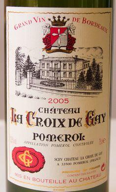 2005 Chateau La Croix de Gay Pomerol