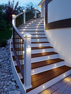 8 Outdoor Staircase Ideas | DIY Outdoor Spaces - Backyards, Front Yards, Porches, Outdoor Kitchens | DIY