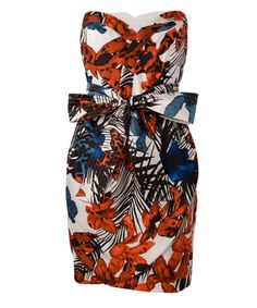 """tropical print sundress, see by chloe, liberty of london: slightly ridiculous, totally amazing. My """" on my way to Hawaii"""" dress African Inspired Fashion, African Print Fashion, Fashion Prints, Love Fashion, African Prints, Womens Fashion, Fashion Styles, African Attire, African Wear"""