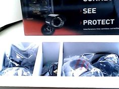 LOREX CAMERA LW2100 CONNECT,SEE PROTECT, NEW IN BOX!