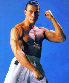 Van Damme muscle ín old days Martial Arts Movies, Martial Artists, Kickboxing, Soldado Universal, Karate Shotokan, Full Contact, Claude Van Damme, The Expendables, Tough Guy