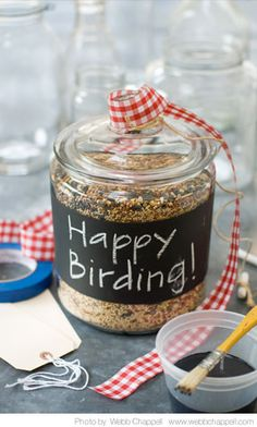 <3  Feed the birds~My Friend Volunteers at a nursing Home,They love to feed and Watch Birds.I will be making these for sure and Send~So Cute~