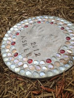 diy stepping stones--step by step instructions!