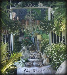 Garden Mirror & Afternoon Tea