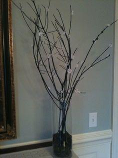 branch centerpieces