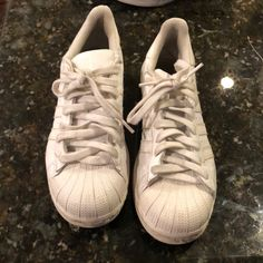 new style 02214 46a2f adidas Shoes   Adidas Superstar Sneaker All White Size 8 In Men   Color   White