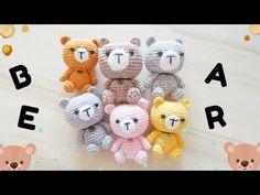 Bear Amigurumi Tutorial - YouTube Amigurumi Tutorial, Bear, Youtube, Pattern, Patterns, Bears, Model, Youtubers, Youtube Movies