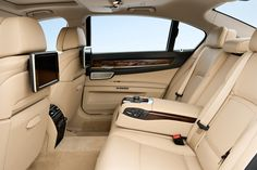 Anyone who takes a seat in the BMW 7 Series Sedan can lean back and relax. The excellent quality of design, materials and finishing create a comfortable ambience that offers plenty of scope to meet the highest of aspirations.  #BMW #cars #luxury #high #road
