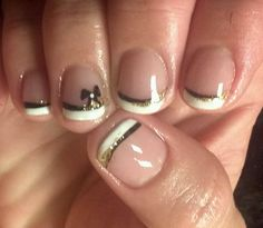 Shellac and handpainted design