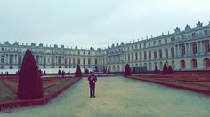 Versailles palace from the outside