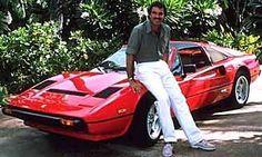 La Ferrari 308 dans Magnum PI