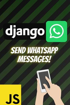 Learn how to send whatsapp messages in a django project with the use of twilio and javascript #django #twilio #javascript #ajax #whatsapp
