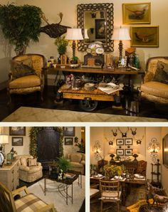 """Leslie Elliott Interior Design. //  ♡ HERE IT IS!!! THE """"COFFEE TABLE"""" IN THE TOP PICTURE!!! GREAT, RIGHT?!  ♥A"""