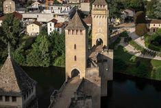Este puente medieval puede ser el más bonito de Francia (20 fotos de Cahors) | 101 Lugares increíbles | Bloglovin'