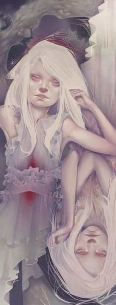 Draw Ghosts on My Back by ~neeka