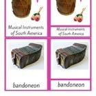 15 3-part cards with musical instruments of South America.  This printable is a part of South America Unit you can download here and save: South Am...